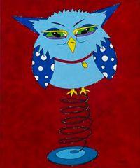 Gotta Spring In My Step - Owl