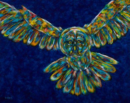 Keeper Of The Night - Owl, Barn Owl