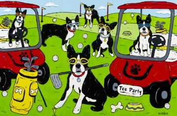 Boston Tee Party - Boston Terrier