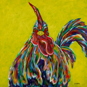 A Wattle Confused - Rooster, Chicken