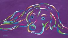 Watching & Waiting - Labrador Retriever