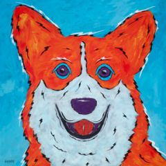"Did You Say Treats - Corgi Metal Print, SIZE 10"" x 10"""