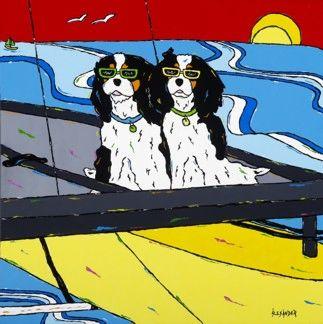 Ruff Sailing - King Charles Cavaliers
