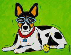 Chillin' - Rat Terrier