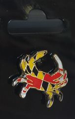 Maryland Crab Lapel Pin