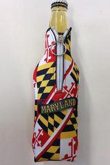 Maryland State Flag Bottle Koozie