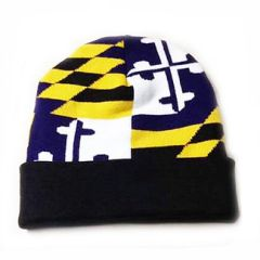 Baltimore Cuffed State Flag Beanie