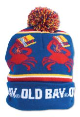 Old Bay Spice Pom Pom Hat