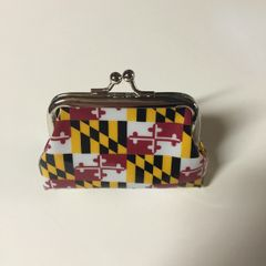 Maryland State Flag Coin Purse