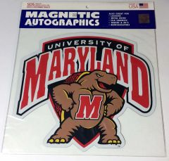 Maryland Terrapin Shield Car Magnet Large