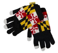 Maryland Flag Cover Gloves