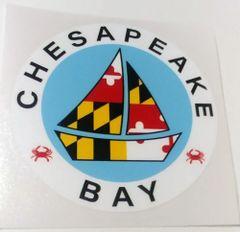 "Decal New Chesapeake Bay 4"""