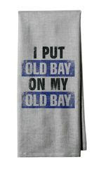 Old Bay on OB Kitchen Towel