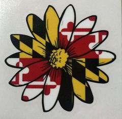 "Decal Black Eye Susan 3"" or 6"""
