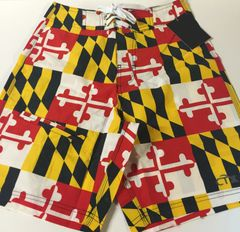 Youth Maryland State Flag Board Shorts