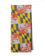 Maryland Flag Kitchen Towel