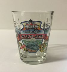 Maryland Highlights Shot Glass