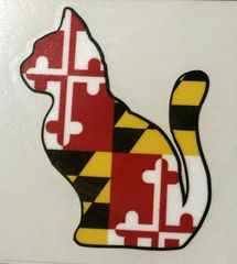 "Decal or Magnet Maryland Cat 3"" or 6"""