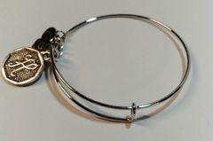 """Adjustable Bangle Bracelet """"H"""""""