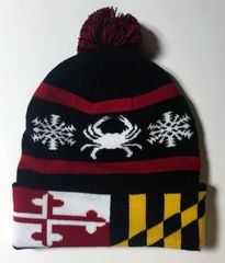Maryland State Flag Crab Hat