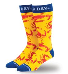 Old Bay Crabs All Over Dress Socks