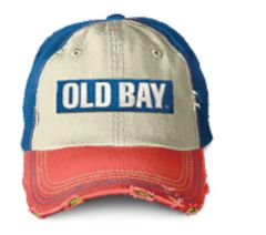 Old Bay Distressed Hat Adult