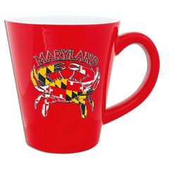 Maryland Red Crab Mug
