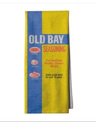 Old Bay Logo Kitchen Towel