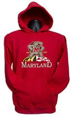 University of Maryland Terrapin Hooded Sweatshirt