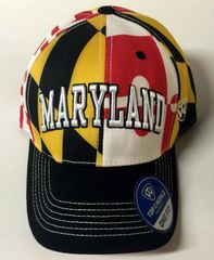 Maryland 1-Fit State Flag Hat