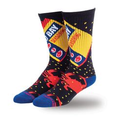 Old Bay Spicy Crew Socks