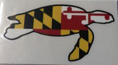 "Decal Maryland Turtle 3"" or 6"""