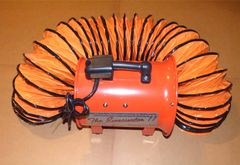 "Evacuator 11 - 11"" Explosion Proof Evacuation Fan 1/2 HP"