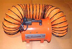 "Evacuator 13 - 13"" Explosion Proof Evacuation Fan 3/4 HP"
