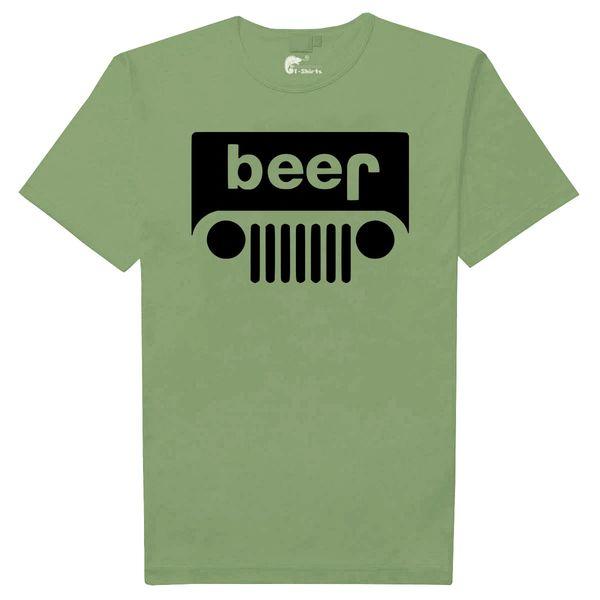 b615cfe5b Jeep Beer t-shirt (Green) | Camisetas de nicaragua, nicaragua t ...