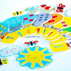 Meadow Kids - Bathtime Stickers - Counting 1 - 10