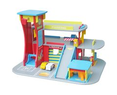 Large wooden toy garage - due back in stock 1st December