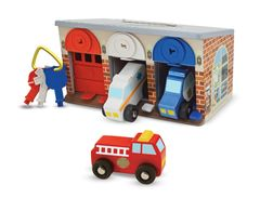 Melissa and Doug Lock and Roll Resuce Trucks