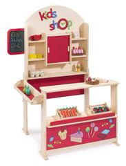 Wooden Toy Shop - Red