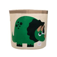 3 Sprouts Toy Basket - Green Dinosaur