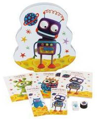 Activity Tin with lots of goodies ! Robot Design