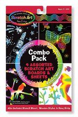 Melissa and Doug Scratch Art Combo
