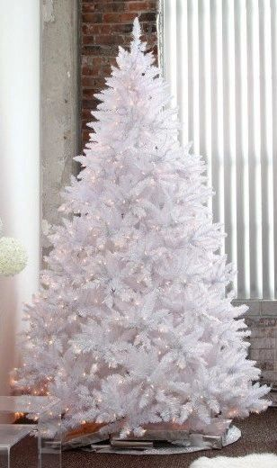5ft 6ft 7ft 8ft White Christmas Tree Holiday Stuff Company