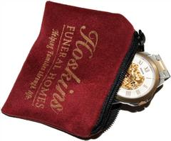 Velveteen Jewelry/Keepsake Pouch