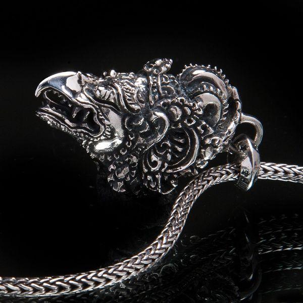 74. Garuda Head - Sterling Silver Pendant