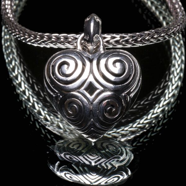 22A. Heart - Sterling Silver Pendant