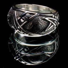 42. Geo 2 - Sterling Silver Ring