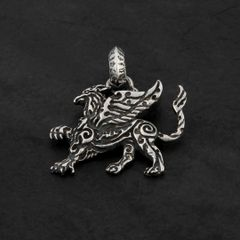 27B. Griffin - Sterling Silver Pendant