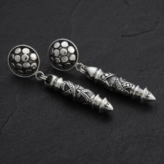 03. Geo-003 - SterlingSilver/PostEarrings