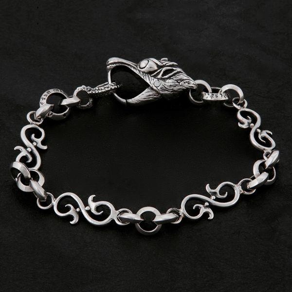 16. Geo-016 - Sterling Silver Bracelet